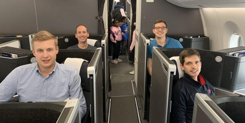 Reisetopia In Der British Airways Club Suite Business Class