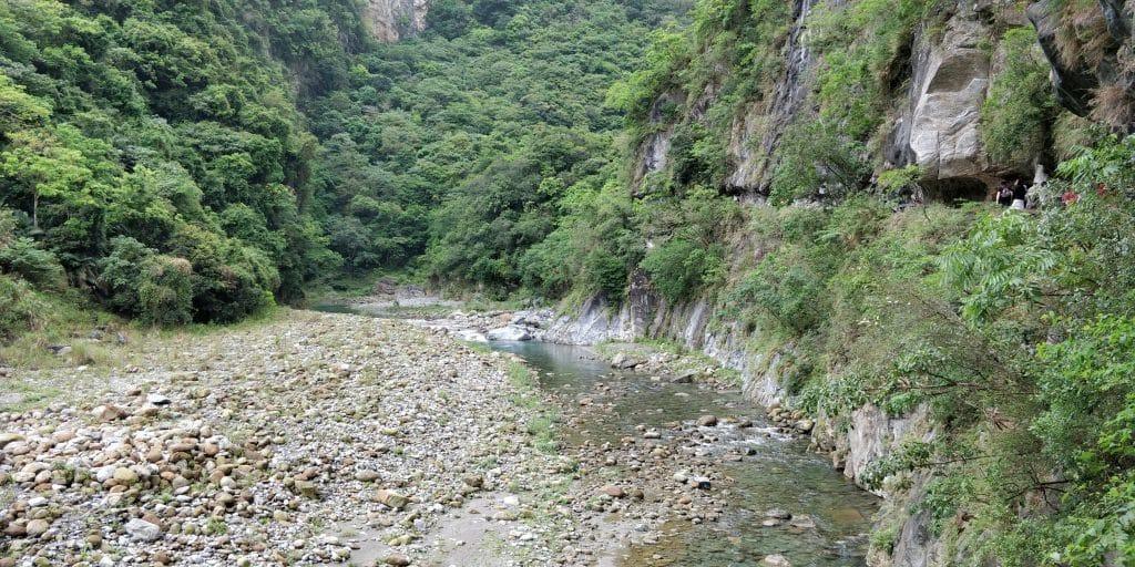 Shakadang Trail Taroko Schlucht Taiwan