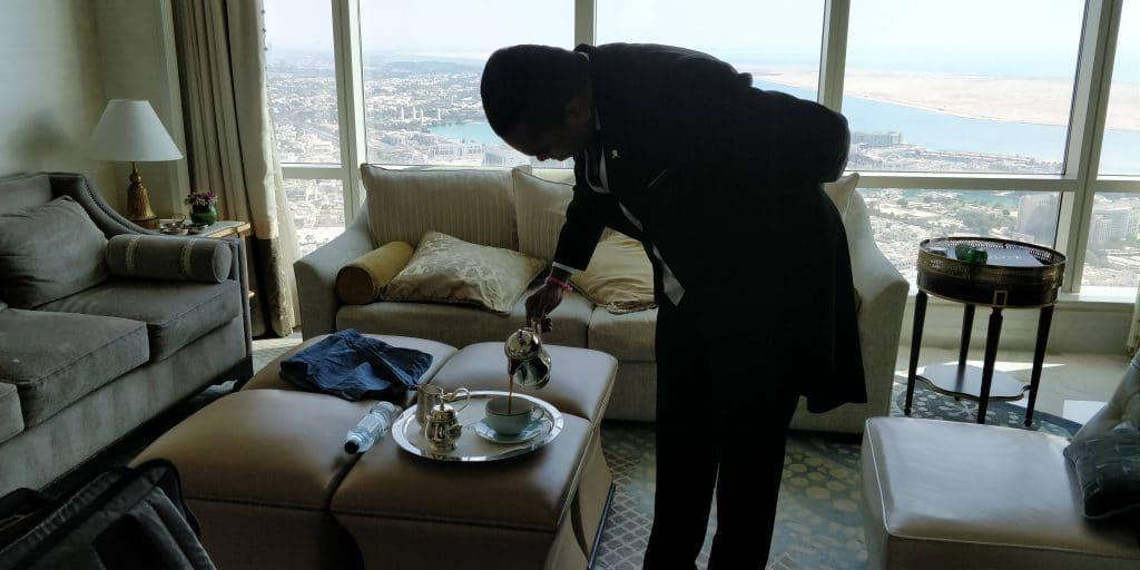 St. Regis Abu Dhabi Butler Service