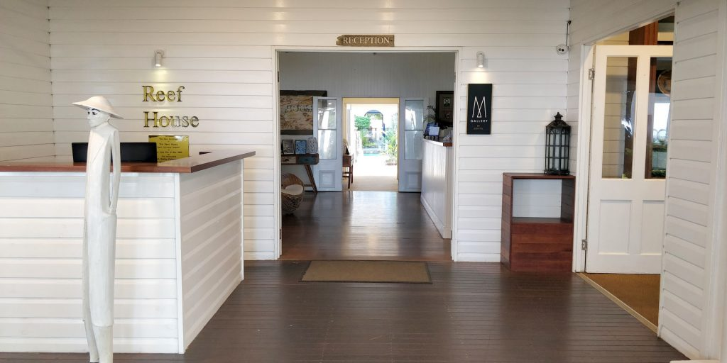 The Reef House Palm Cove Eingang 3
