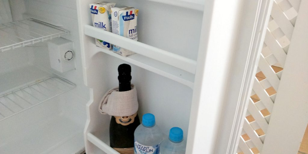 The Reef House Palm Cove Minibar