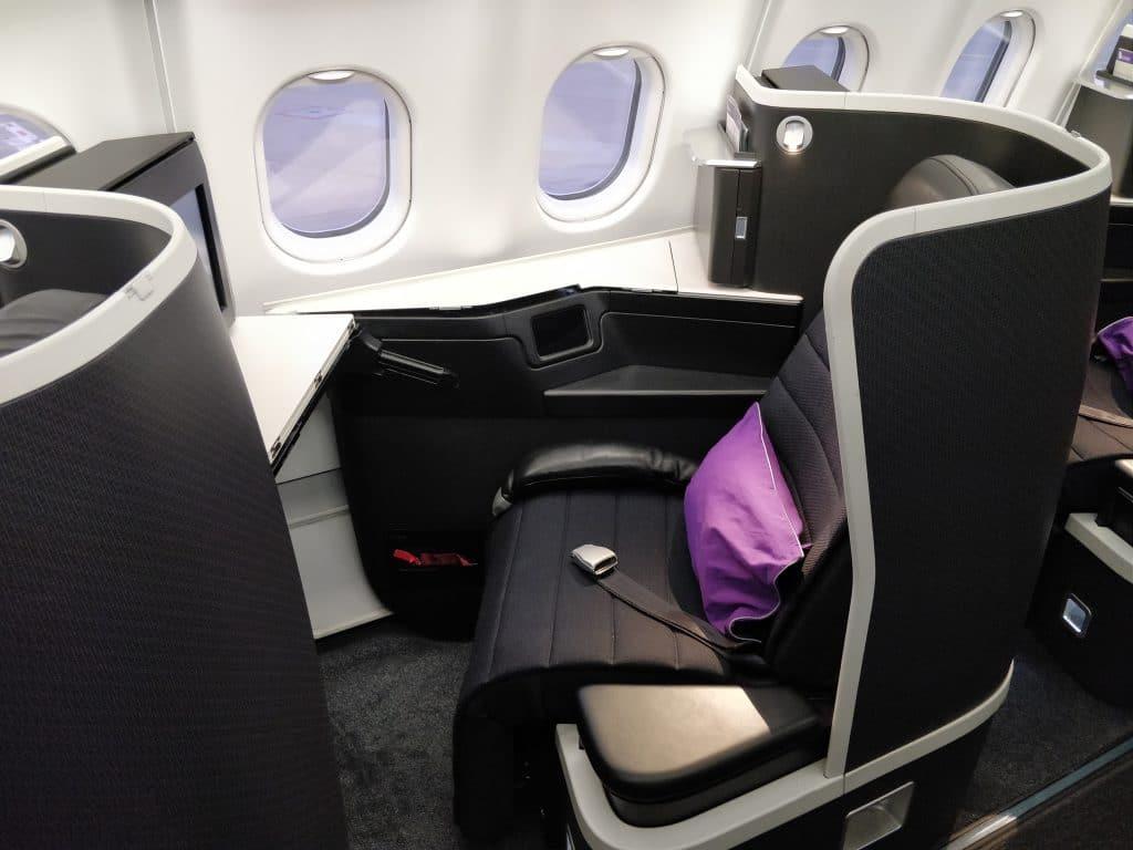 Virgin Australia Business Class Airbus A330 Sitz 6