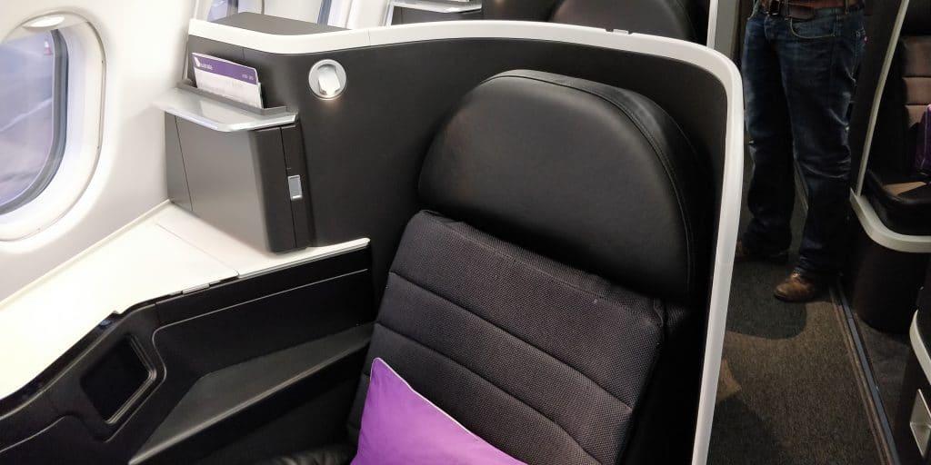 Virgin Australia Business Class Airbus A330 Sitz 9