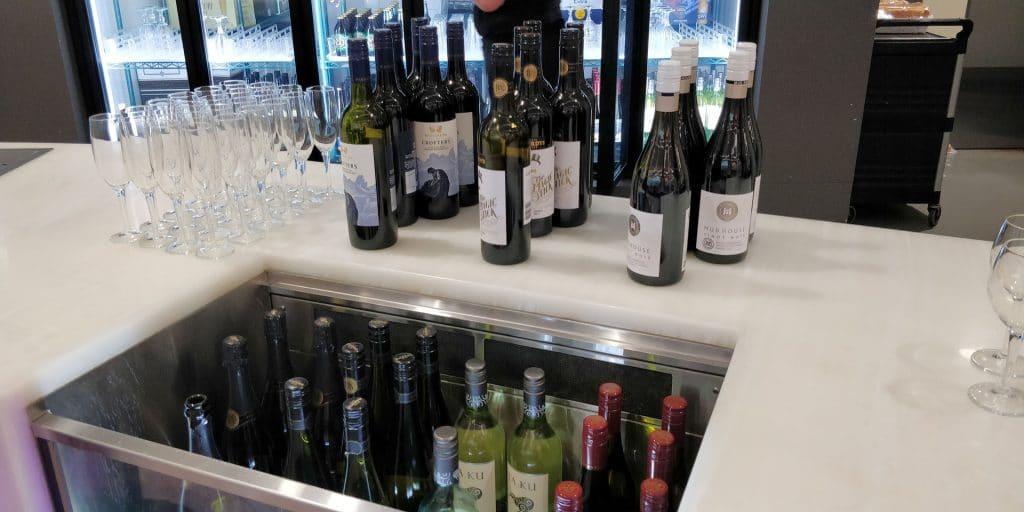 Virgin Australia Lounge Brisbane Buffet