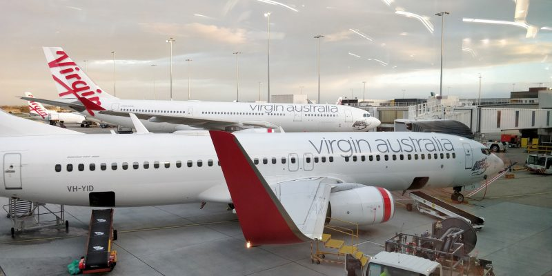 Virgin Australia Lounge Melbourne Ausblick 2