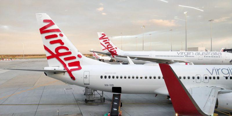 Virgin Australia Lounge Melbourne Ausblick
