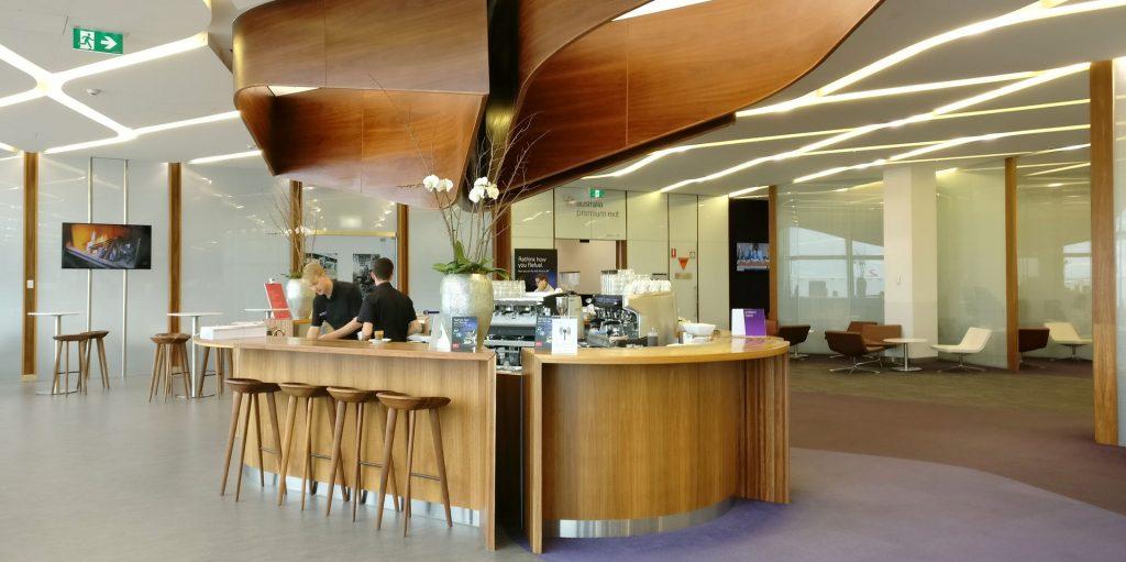Virgin Australia Lounge Melbourne Bar