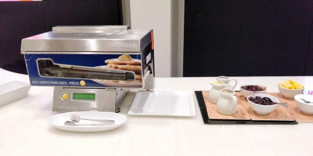 Virgin Australia Lounge Melbourne Frühstück 3