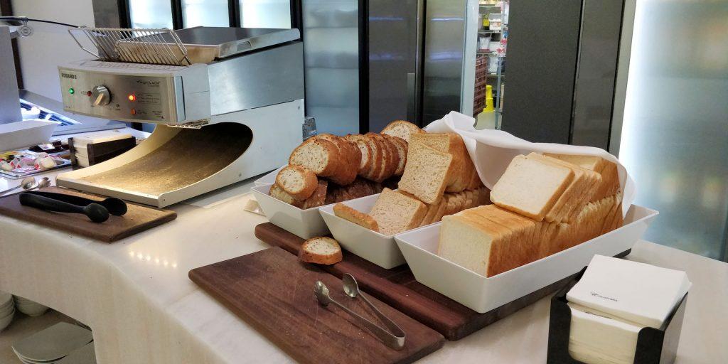 Virgin Australia Lounge Melbourne Frühstück 4