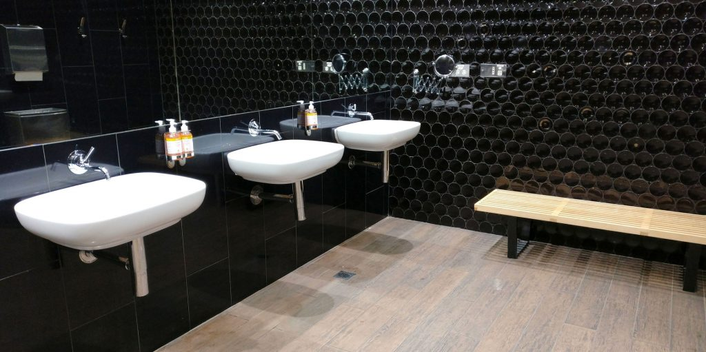 Virgin Australia Lounge Melbourne Toilette