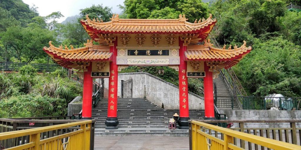 Xiange Tempel Taroko Schlucht Taiwan 5