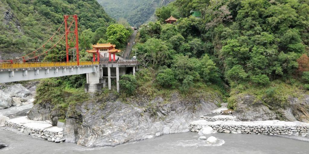 Xiange Tempel Taroko Schlucht Taiwan 6