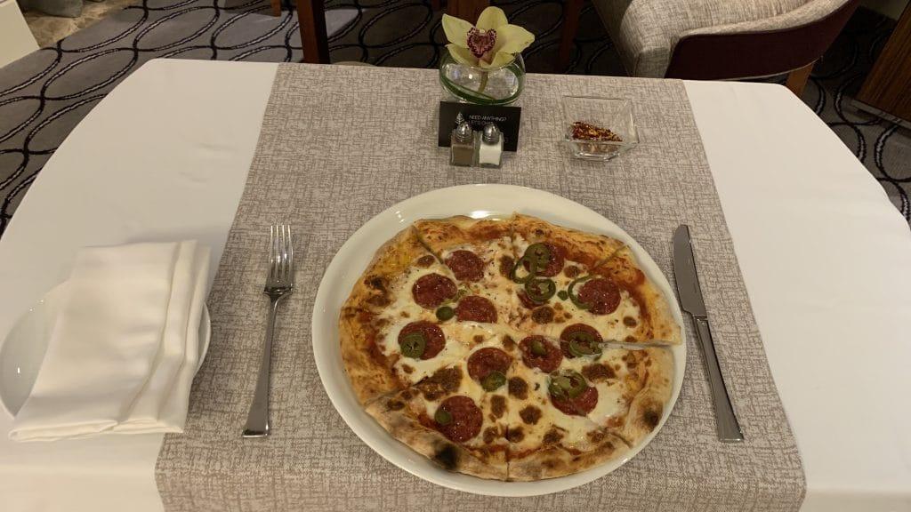 Four Seasons Abu Dhabi Pizza 2