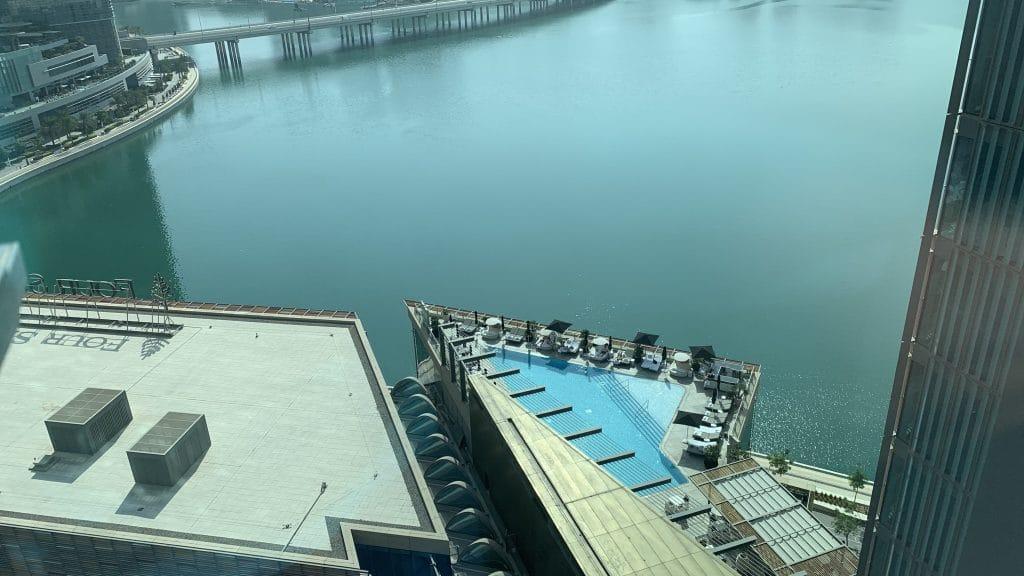 Four Seasons Abu Dhabi Pool Von Oben