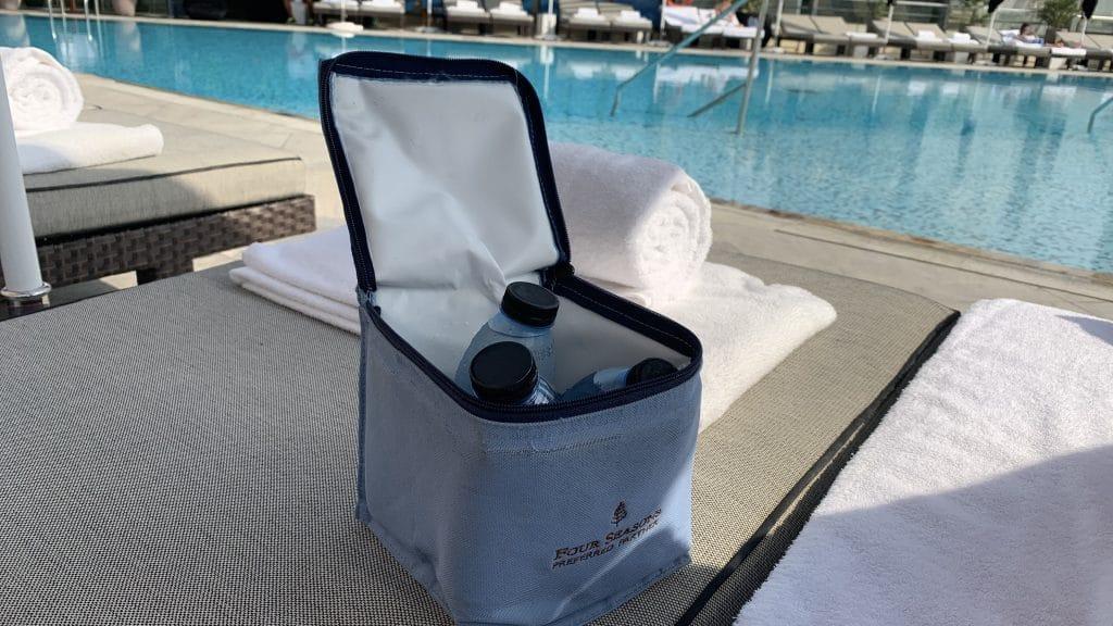 Four Seasons Abu Dhabi Wasser Am Pool