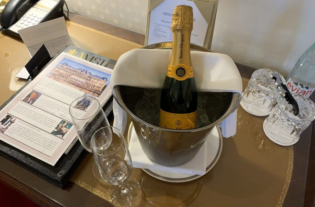 Intercontinental Amsterdam Amstel Champagner