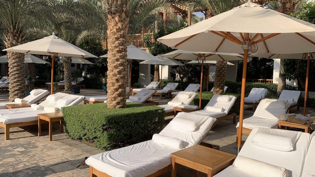 Park Hyatt Dubai Pool Liegen