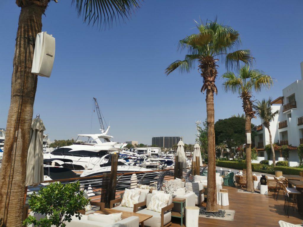 Park Hyatt Dubai Restaurant Yachthafen