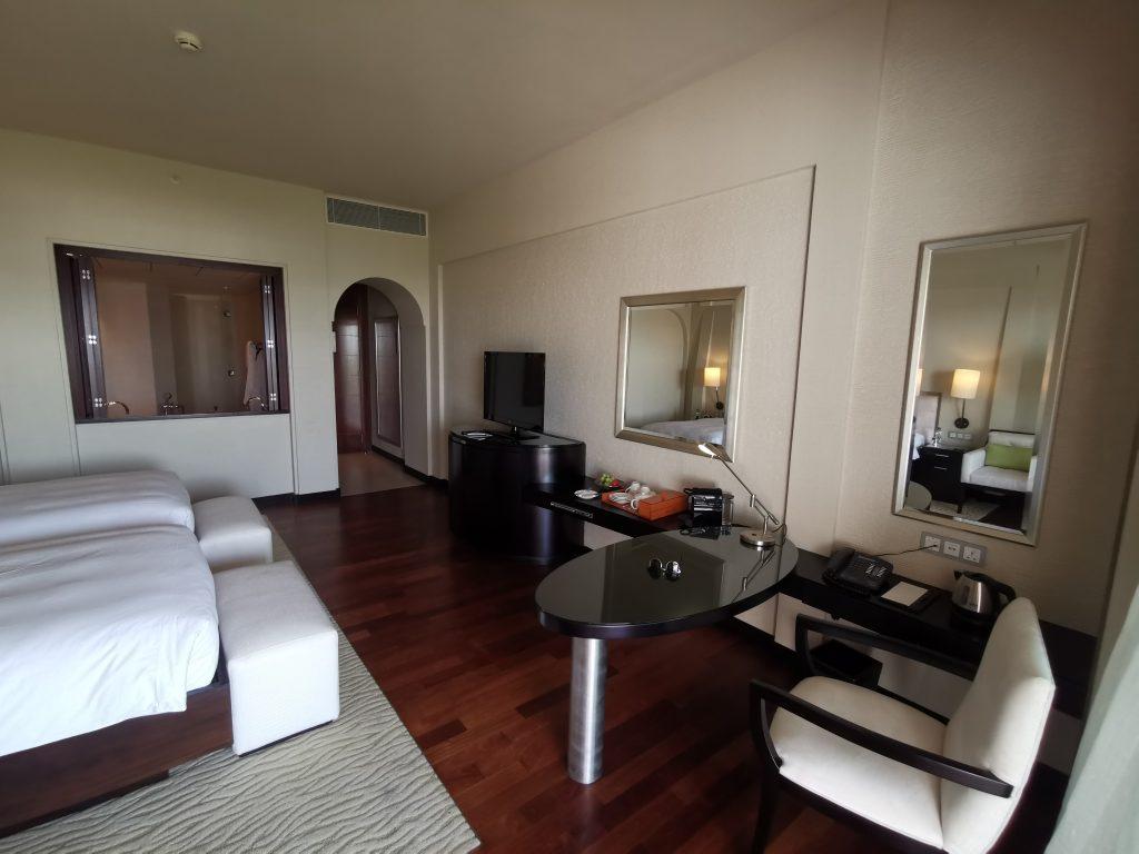 Park Hyatt Dubai Zimmer Weitwinkel