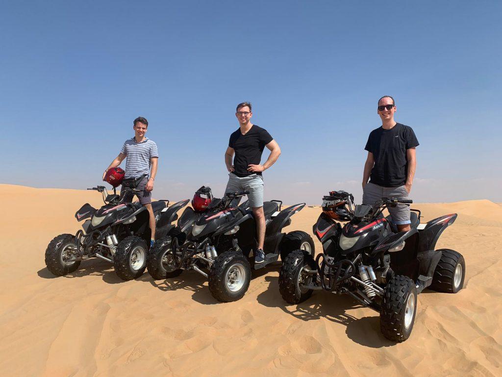 Reisetopia Quad Wüste