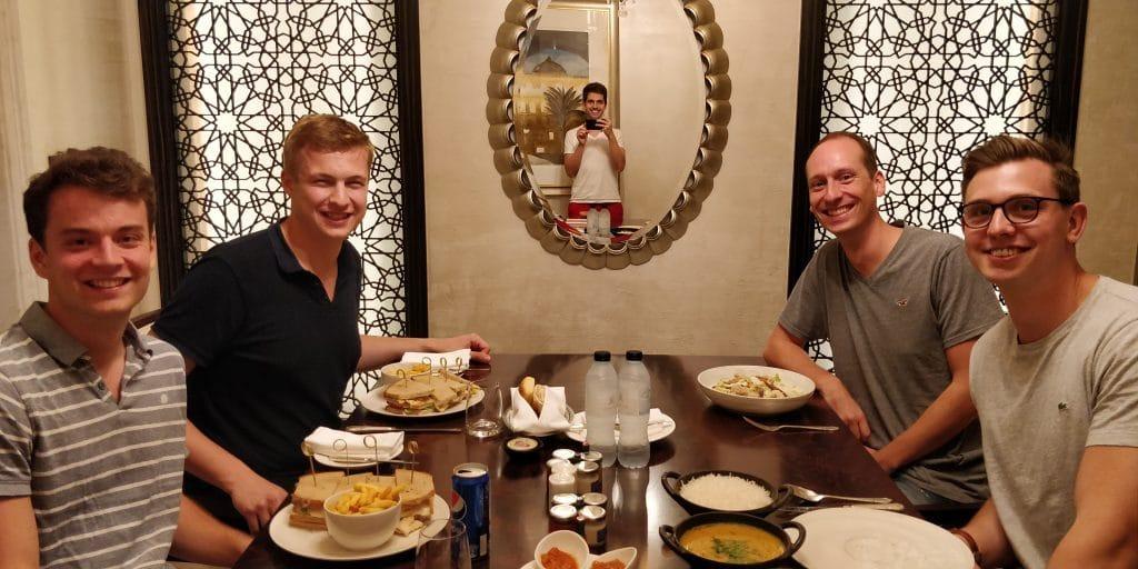 Reisetopia St. Regis Abu Dhabi Dinner