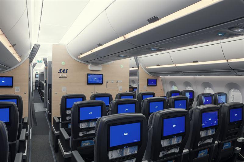 SAS Plus im A350