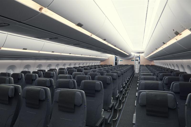 Economy Class im A350 von SAS