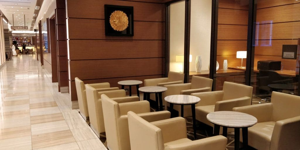 Ahlan Business Class Lounge Dubai 2