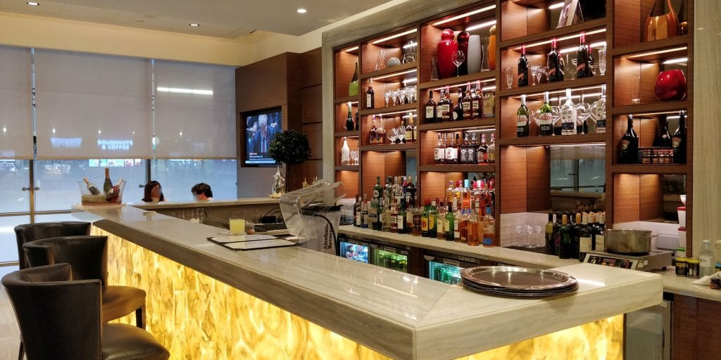 Ahlan Business Class Lounge Dubai Bar