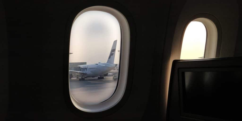 Air China Boeing 787 Fenster Finnair