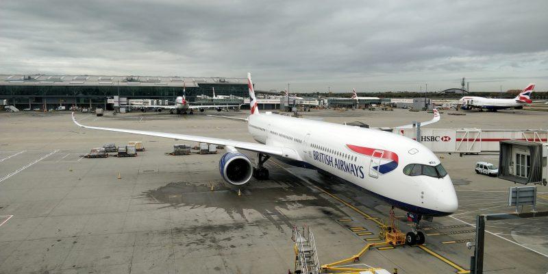 British Airways Airbus A350 3