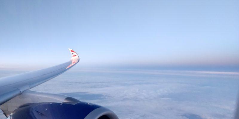 British Airways Airbus A350 Flügel