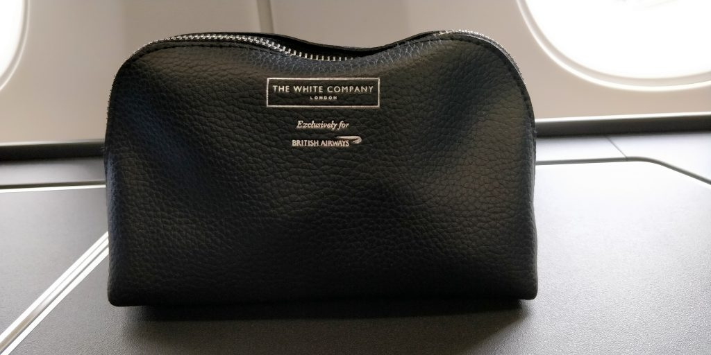 British Airways Business Class Airbus A350 Amenity Kit