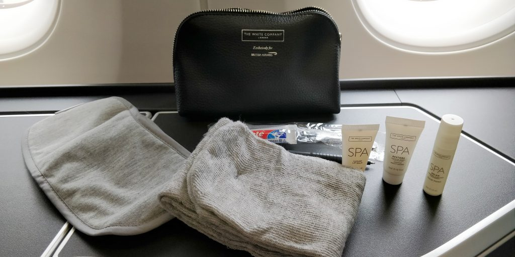 British Airways Business Class Airbus A350 Amenity Kit 2