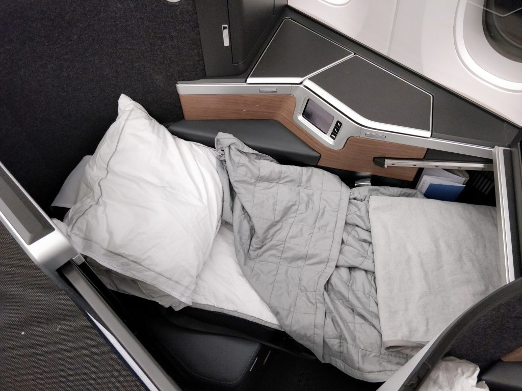 British Airways Business Class Airbus A350 Bett 7