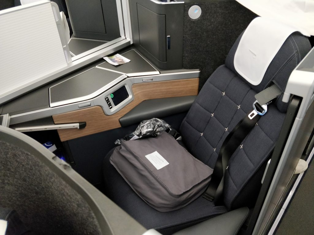British Airways Business Class Airbus A350 Sitz 6