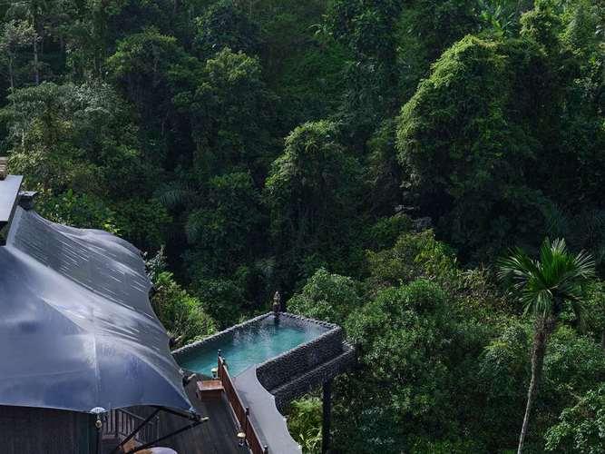 Capella Ubud Bali Aussicht