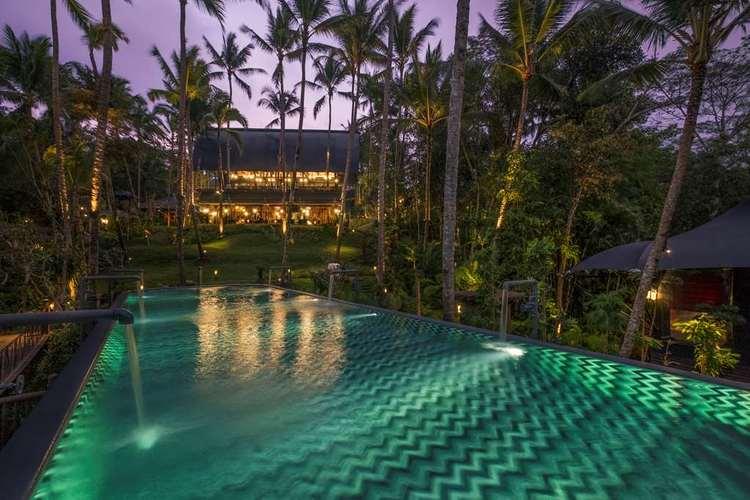 Capella Ubud Bali Pool
