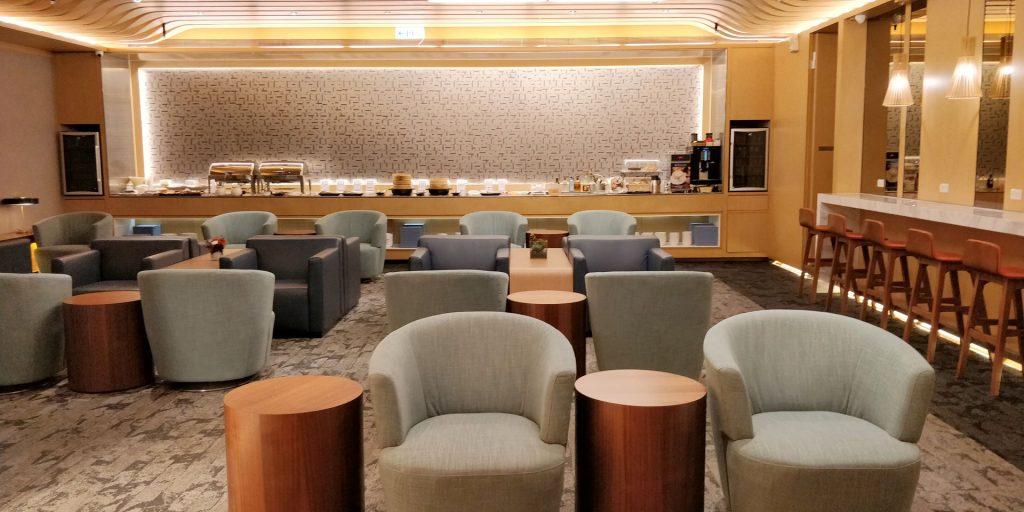 China Airlines Lounge Taipeh Terminal 1B 4
