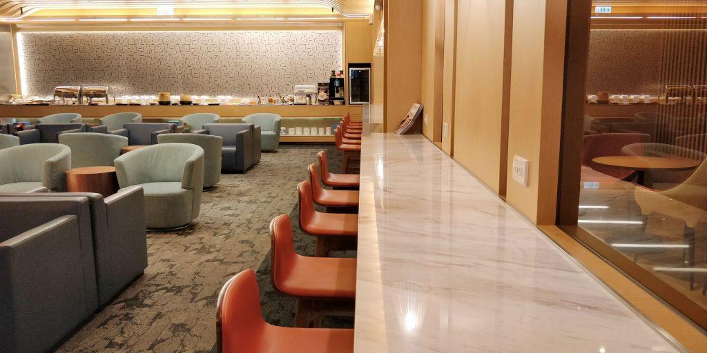China Airlines Lounge Taipeh Terminal 1B 6