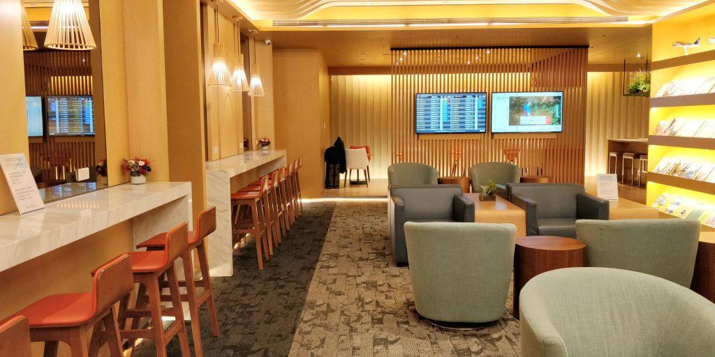 China Airlines Lounge Taipeh Terminal 1B 7