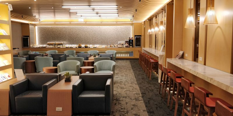 China Airlines Lounge Taipeh Terminal 1B