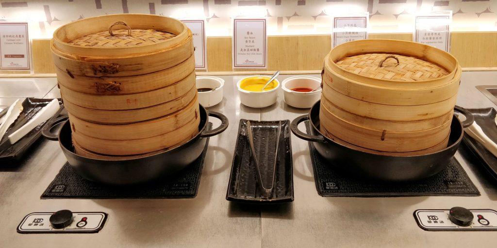 China Airlines Lounge Taipeh Terminal 1B Buffet 4