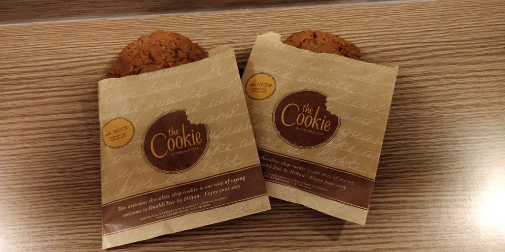 DoubleTree Cairns Cookies