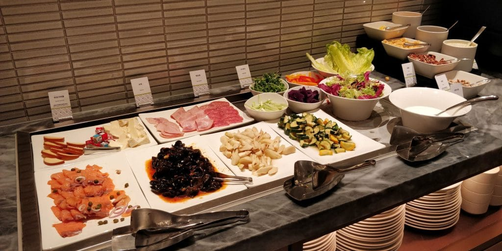 DoubleTree Taipeh Zhongshan Frühstück