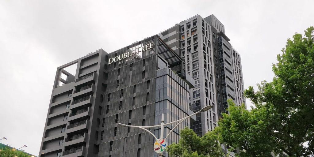 DoubleTree Taipeh Zhongshan Gebäude