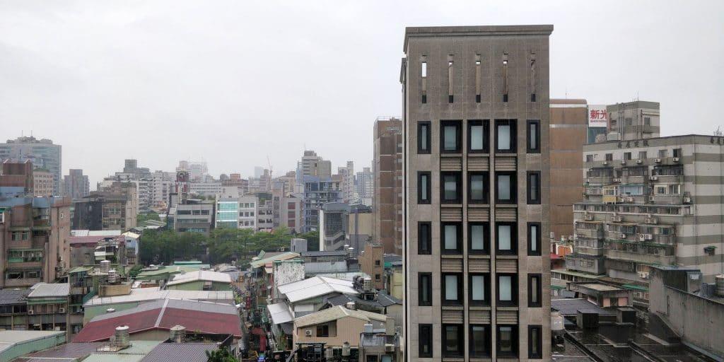DoubleTree Taipeh Zhongshan Suite Ausblick