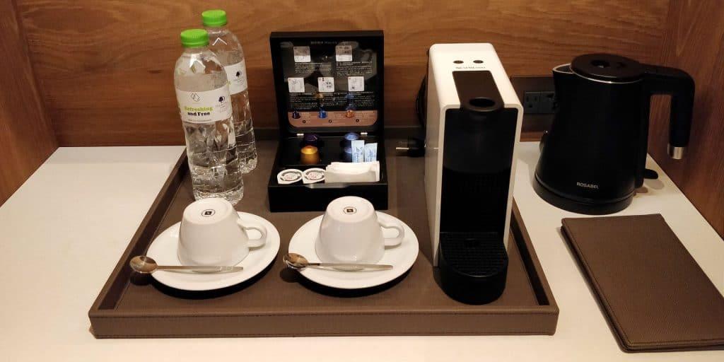 DoubleTree Taipeh Zhongshan Suite Kaffeemaschine