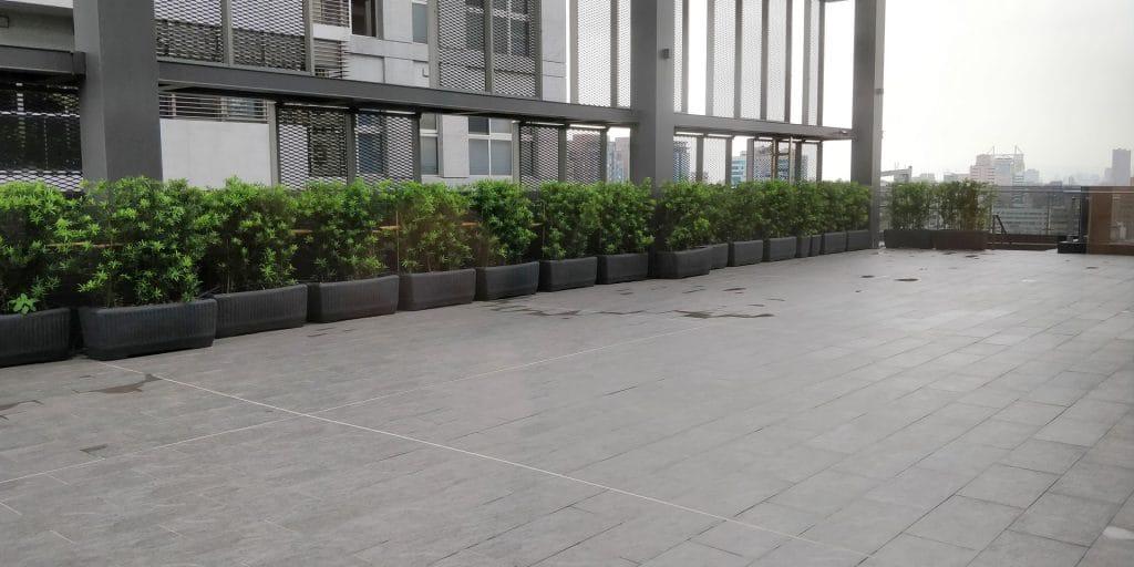 DoubleTree Taipeh Zhongshan Terrasse