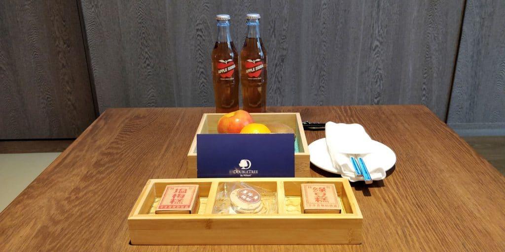 DoubleTree Taipeh Zhongshan Willkommensgeschenk